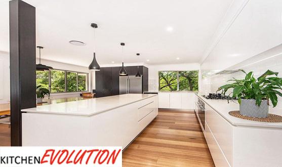 Dark Wood Floors - Kitchen Evolution Ipswich