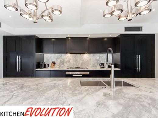 Marble Detail - Kitchen Evolution Ipswich